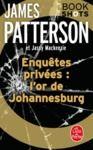 Livre numérique Enquêtes privées : l'or de Johannesburg