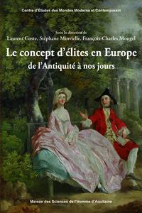 Livre numérique Le concept d'élites en Europe