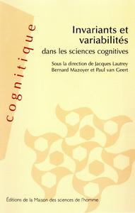 Livre numérique Invariants et variabilités dans les sciences cognitives