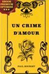 Livre numérique Un crime d'Amour