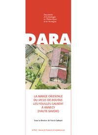 Livre numérique La marge orientale du vicus de Boutae. Les fouilles Galbert à Annecy (Haute-Savoie)