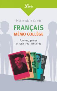 Livre numérique Français : mémo collège