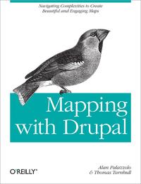 Livre numérique Mapping with Drupal