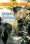 Livre numérique Bibliocollège - Jacques Damour et autres nouvelles, Emile Zola