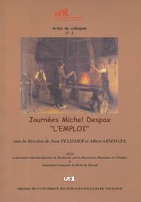 """Livre numérique Journées Michel Despax """"L'emploi"""""""