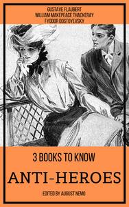 Livre numérique 3 books to know Anti-heroes