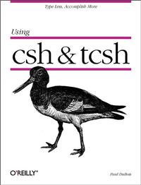 Livre numérique Using csh & tcsh
