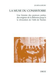 E-Book La Muse du consistoire