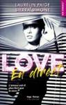 Livre numérique Love en direct