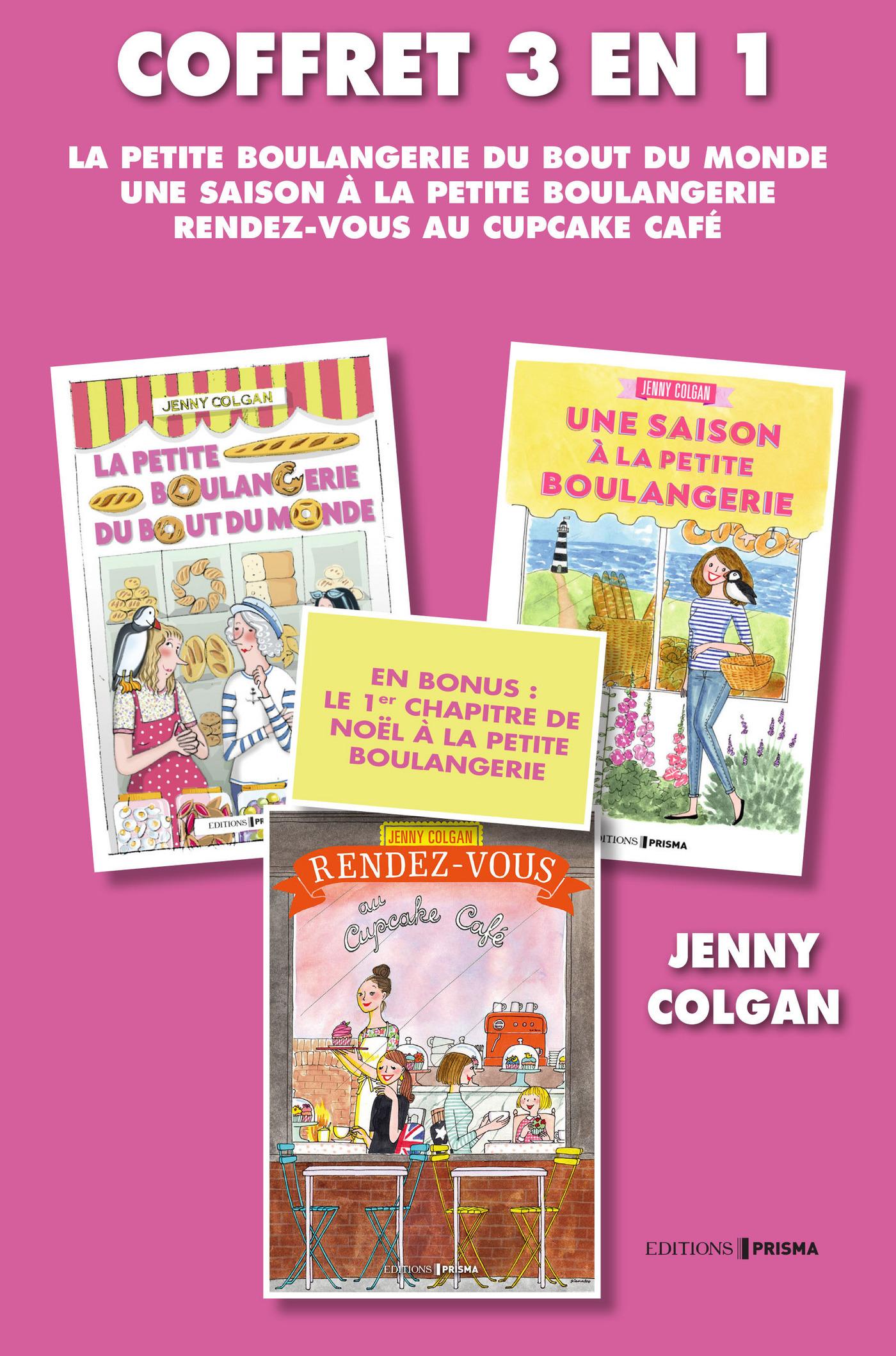 Livre numérique Coffret Jenny Colgan : La petite boulangerie 1 et 2 +  Rendez-vous