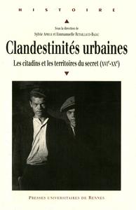 Livre numérique Clandestinités urbaines