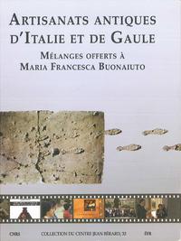 Livre numérique Artisanats antiques d'Italie et de Gaule