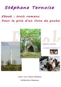 Livre numérique Ebook : trois romans pour le prix d'un livre de poche