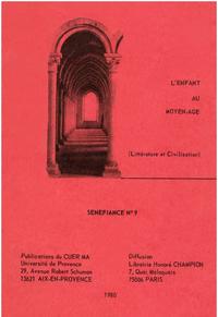 Electronic book L'enfant au Moyen Âge