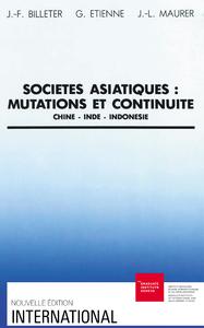 Electronic book Sociétés asiatiques: mutations et continuité