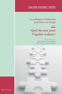 E-Book Les politiques d'éducation prioritaire en Europe. TomeII