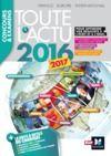 Livre numérique Toute l'actu 2016 Sujets et chiffres de l'actualité 2016 - Concours & examens