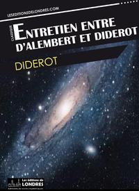 Livre numérique Entretien entre d'Alembert et Diderot
