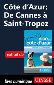 Livre numérique Côte d'Azur : De Cannes à Saint-Tropez