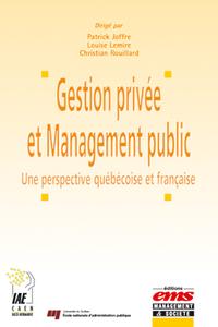 Livre numérique Gestion privée et Management public