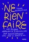 Electronic book Ne rien faire
