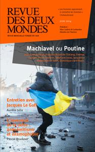 Livre numérique Revue des Deux Mondes juin 2014