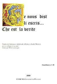Electronic book Ce nous dist li escris… Che est la verite