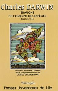 Livre numérique Charles Darwin, Ébauche de L'Origine des Espèces