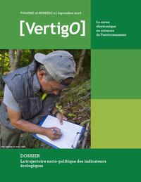Livre numérique La trajectoire socio-politique des indicateurs écologiques