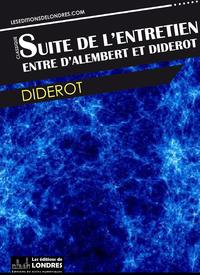 Livre numérique Suite de l'entretien entre Diderot et d'Alembert