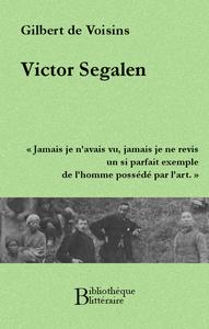 Livre numérique Victor Segalen
