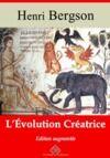 Livre numérique L'Évolution créatrice – suivi d'annexes