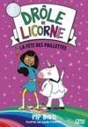 Livro digital Drôle de licorne - tome 03 : La fête des paillettes
