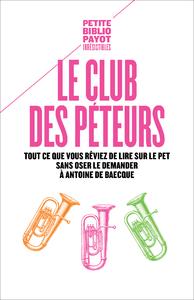 Livre numérique Le Club des péteurs