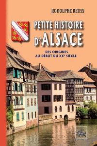 Electronic book Petite Histoire d'Alsace