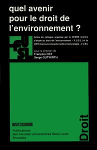 Livre numérique Quel avenir pour le droit de l'environnement?
