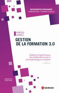 Livre numérique Gestion de la formation 3.0