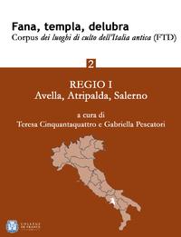 Livre numérique Fana, templa, delubra. Corpus dei luoghi di culto dell'Italia antica (FTD) - 2