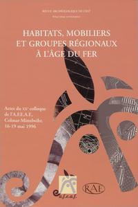 Livre numérique Habitats, mobiliers et groupes régionaux à l'âge du fer