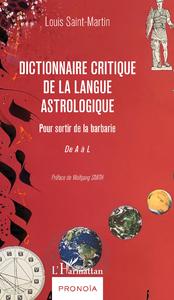 Livre numérique Dictionnaire critique de la langue astrologique