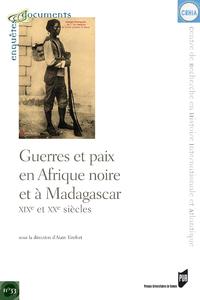 Livre numérique Guerres et paix en Afrique noire et à Madagascar