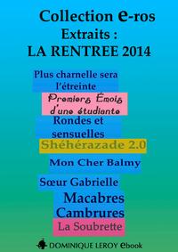 Livre numérique La Rentrée Littéraire 2014 Éditions Dominique Leroy - Extraits