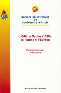 Livre numérique L'Edit de Nantes (1598), la France et l'Europe