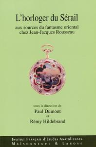 Electronic book L'horloger du sérail