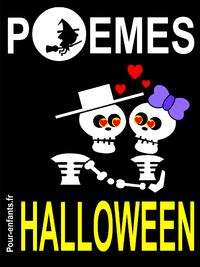 Libro electrónico Poèmes d'Halloween