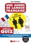 Livre numérique Une année de langue française aux toilettes