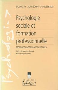 Livre numérique Psychologie sociale et formation professionnelle