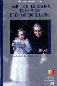 Livre numérique Famille et éducation en Espagne et en Amérique Latine