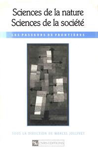 Livre numérique Sciences de la nature, sciences de la société