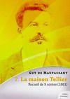 Livre numérique La maison Tellier, recueil de 9 contes